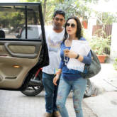 Preity zinta snapped post salon at Bblunt