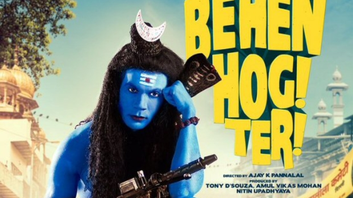 Rajkummar Rao dressed up as Shiva for the poster of Behen Hogi Teri creates legal trouble