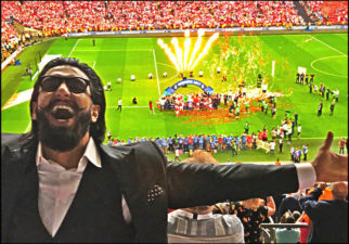 Ranveer Singh heads to London to support his favourite team Arsenal at FA Cup Finals-1
