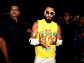 Ranveer Singh snapped at 'Anti Socials', Khar