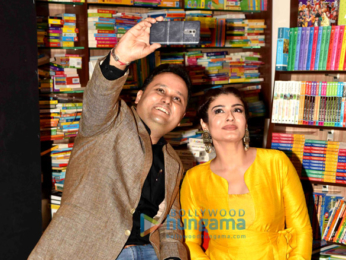 Raveena Tandon launches the cover of Amish's book 'Sita - Warrior of Mithila'