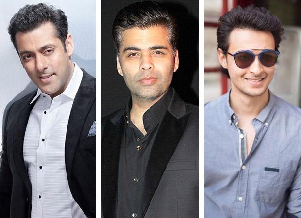Salman Khan and Karan Johar to launch Aayush Sharma