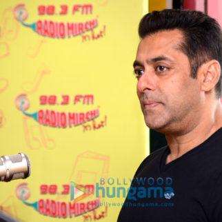 Salman Khan and Sohail Khan promote 'Tubelight' at 98.3 FM Radio Mirchi studio