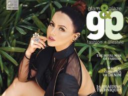 Sana Khan On The Cover Of Glam & Glaze