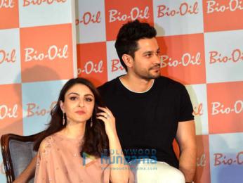 Soha Ali Khan and Kunal Khemu grace the launch of Bio Oil