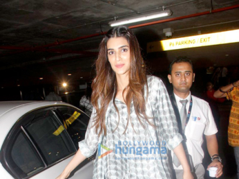 Sushant Singh Rajput, Kriti Sanon and Urvashi Rautela snaped at the airport