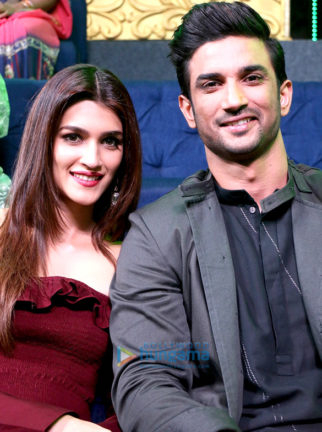 Sushant Singh Rajput and Kriti Sanon promote their film Raabta on Sa Re Ga Ma Pa Li'l Champs