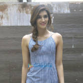 Sushant Singh Rajput and Kriti Sanon snapped at 'Raabta' promotions