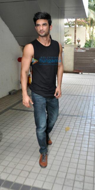 Sushant Singh Rajput snapped promoting his film 'Raabta'