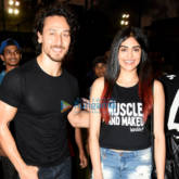 Tiger Shroff and Adah Sharma at 'Super Soccer Tournament' finals