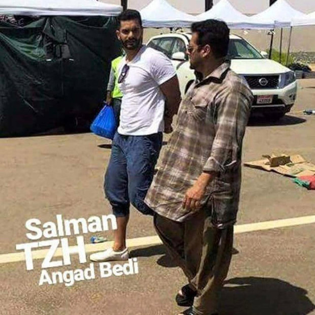 Tiger Zinda Hai Salman Khan and Angad Bedi begin second schedule shoot in picturesque locales of Abu Dhabi-1