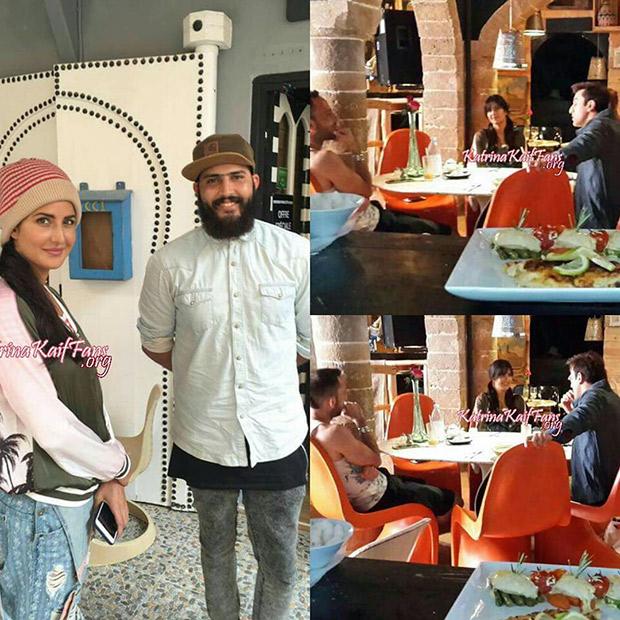 Unseen Photos Katrina Kaif and Ranbir Kapoor are all smiles on Jagga Jasoos set