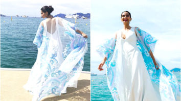 Watch Sonam Kapoor is a vision in white against a serene backdrop on the beach at Cannes 2017-4