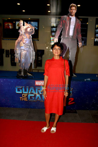 Kiran Rao, Siddharth Roy Kapur, Ragini Khanna grace the premiere of 'Guardians Of the Galaxy'