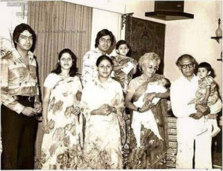 Abhishek Bachchan shares an old picture of Amitabh Bachchan and Jaya Bachchan with his grandparents