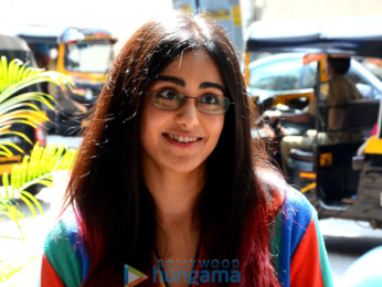 Adah Sharma snapped at Out Of The Blue in Bandra