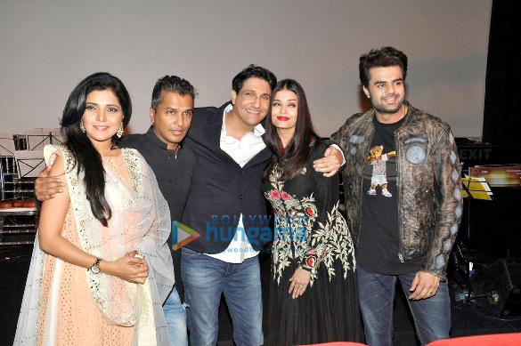 Aishwarya Rai Bachchan graces the music launch of 'Hrudayantar'