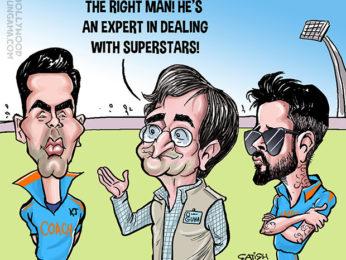 Bollywood Toons Karan Johar to coach Team India