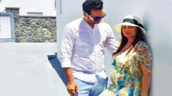 CUTE! Esha Deol and husband Bharat Takhtani are in Greece for their babymoon!
