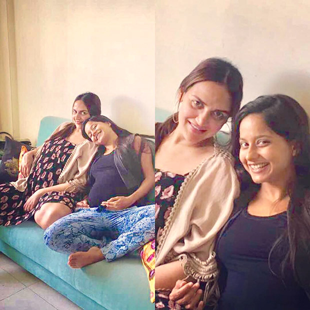 Esha Deol flaunts her baby belly in this adorable photo