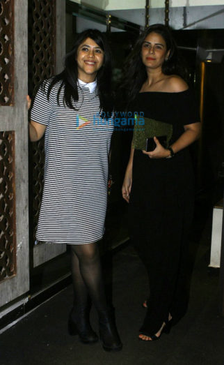 Ekta Kapoor's birthday bash at Bastian with close friends and family