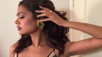 Esha Gupta sizzles at a launch event sporting a bikini top -1