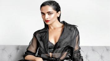 HOT: Deepika Padukone is a smokestorm in sexy black lingerie on Maxim India