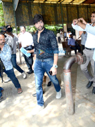 Himesh Reshammiya and his wife snapped in family court