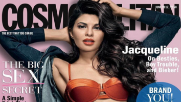 HOT! Jacqueline Fernandez sizzles in a bikini and denims on the cover of Cosmopolitan