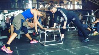 Kareena Kapoor Khan and Amrita Arora sweat it out at the gym-1