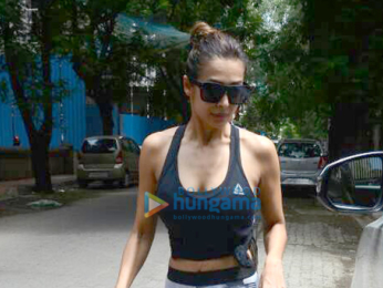 Malaika Arora snapped post her yoga sessions