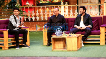Paresh Rawal and Kartik Aaryan promote their film 'Guest Iin London' in The Kapil Sharma Show-4