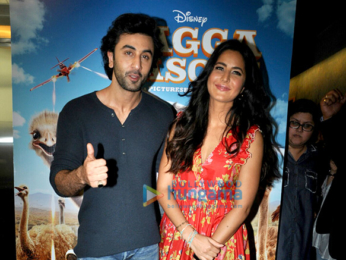 Ranbir Kapoor and Katrina Kaif promote the film Jagga Jasoos