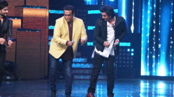 Ranbir Kapoor does some crazy stuff on the sets of Nach Baliye-1