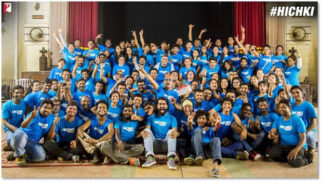 Rani Mukerji's Hichki is wrapped up and they did it in style