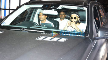Ranveer Singh snapped post gym session in Bandra