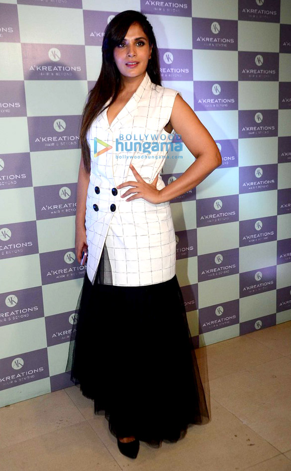 richa chadda and waluscha d souza snapped at the launch of