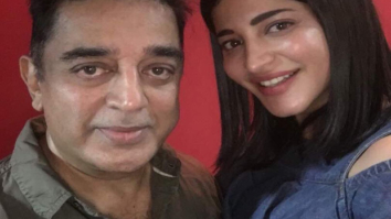 Shruti Haasan clicked with superstar father Kamal Haasan at the special screening of Behen Hogi Teri-1