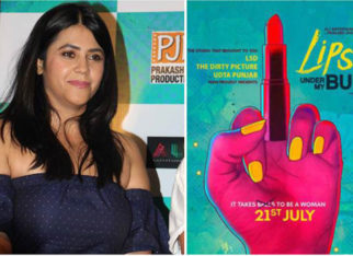 WATCH Ekta Kapoor reveals what middle finger on Lipstick Under My Burkha poster stands for