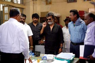 WOW! Rajinikanth shoots for Kaala Karikalan in Mumbai and he looks like a 'Boss'!1