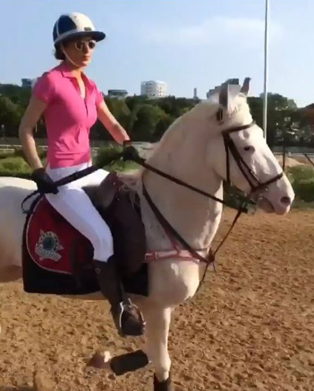 Watch Kangna Ranaut takes horse riding lessons for Manikarnika The Queen of Jhansi (1)