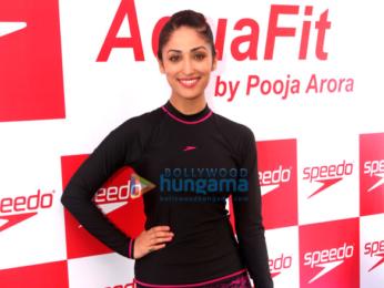 Yami Gautam launches fitness training program 'Speedo AquaFit'