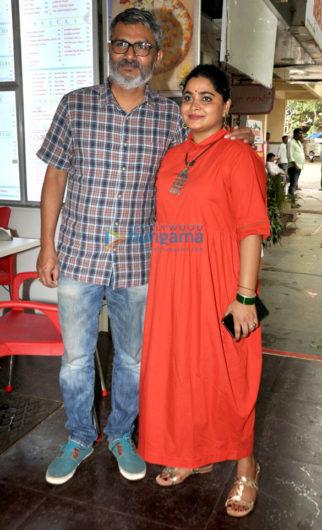 Ace film maker Nitesh Tiwari and his wife Ashwiny Iyer Tiwari snapped together