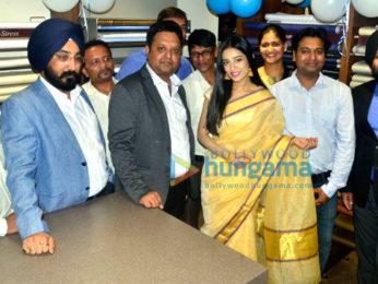 Actress Amrita Rao launches LINEN CLUB Store in Bhuvaneswar, Orissa