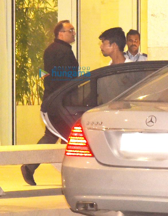 Aditya Chopra, Rani Mukherjee and Pamela Chopra snapped ...