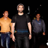 Aditya Roy Kapur, Sonal Chauhan and others snapped at the airport