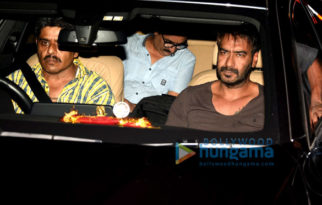 Ajay Devgn, Parineeti Chopra, Tusshar Kapoor, Arshad Warsi and others snapped on the sets of 'Golmaal Again'