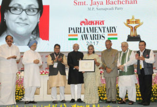 Amitabh Bachchan praises Jaya Bachchan after she receives Best Parliamentarian Award-1