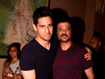 Anil Kapoor and Sidharth Malhotra snapped at JW Marriott Juhu