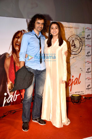 Anushka Sharma, Imtiaz Ali attend the trailer launch of Jab Harry Met Sejal
